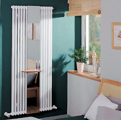 Zehnder полотенцесушитель Charleston Mirror CM 2180-12 (станд. цвет)